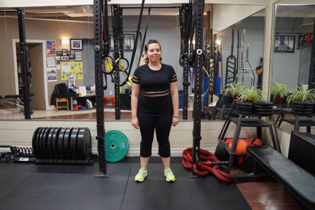 Jen Before Personal Training1