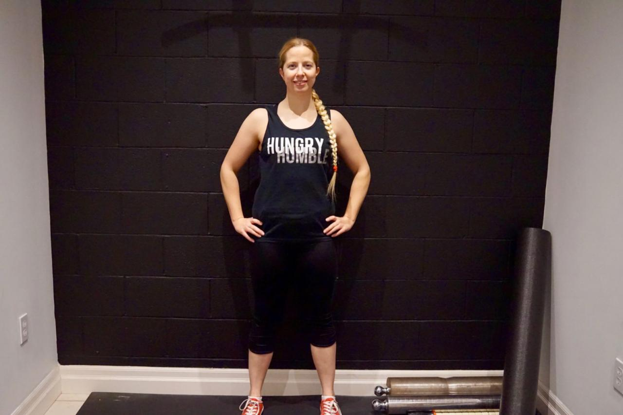Lori lost weight After Strength Training