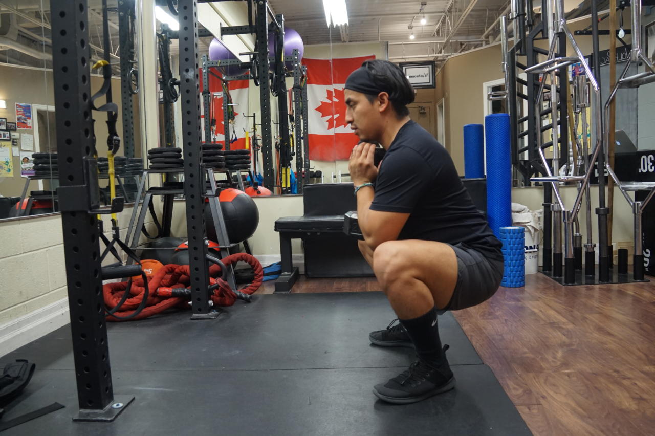 Proper Goblet Squat - Personal Trainer London ONtario
