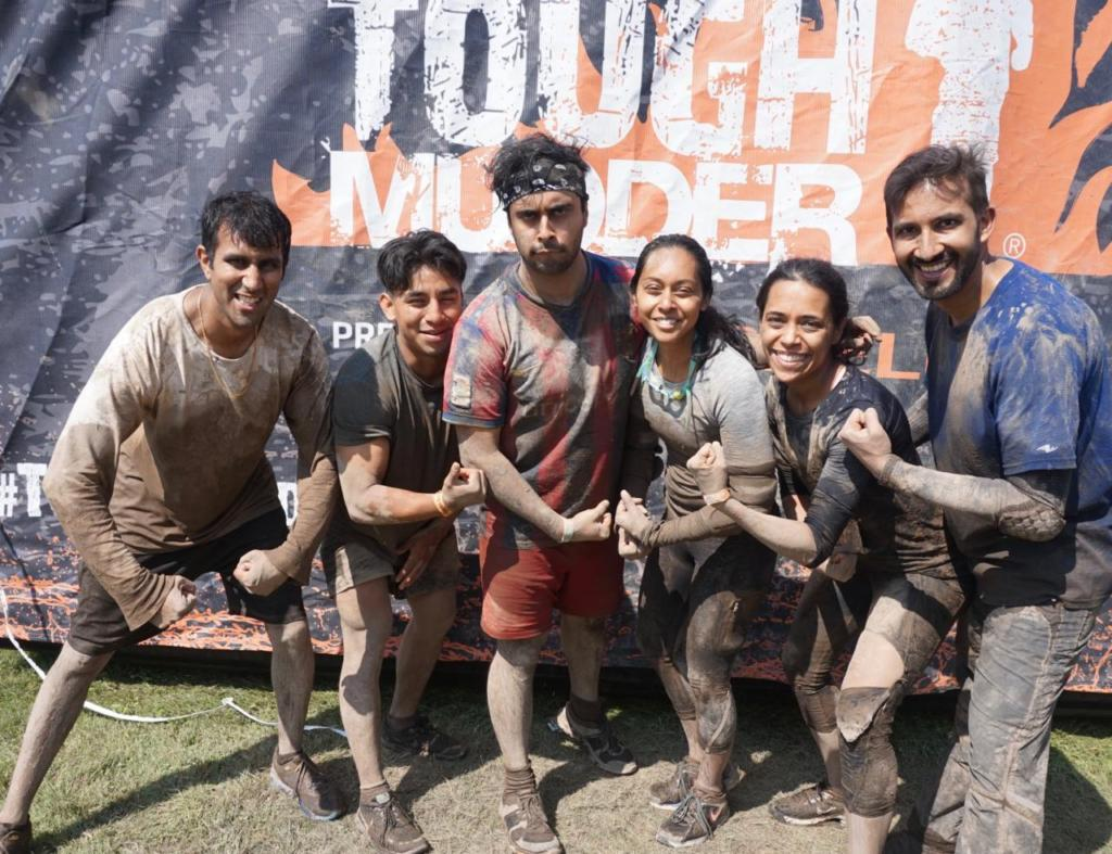 Trained clients for the Tough Mudder and ended up competing in it