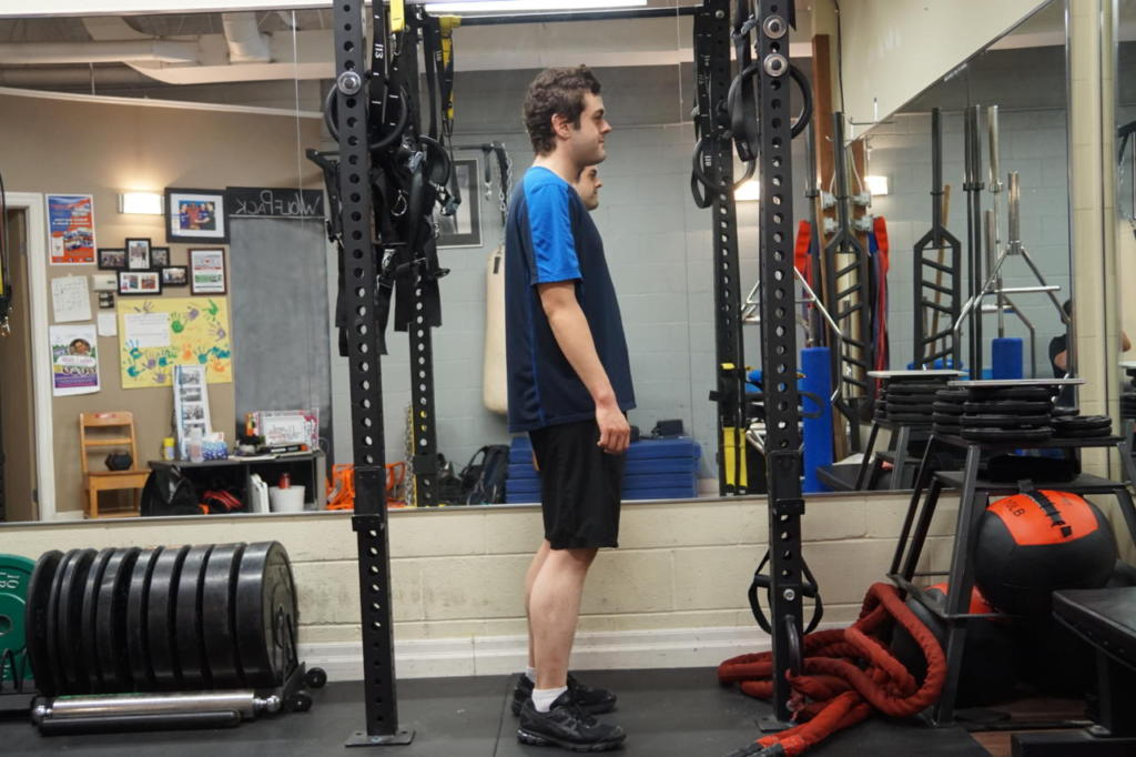 Zane was able to significantly improve his posture and lose weight.