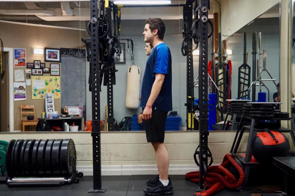 Zane with improved posture and body composition