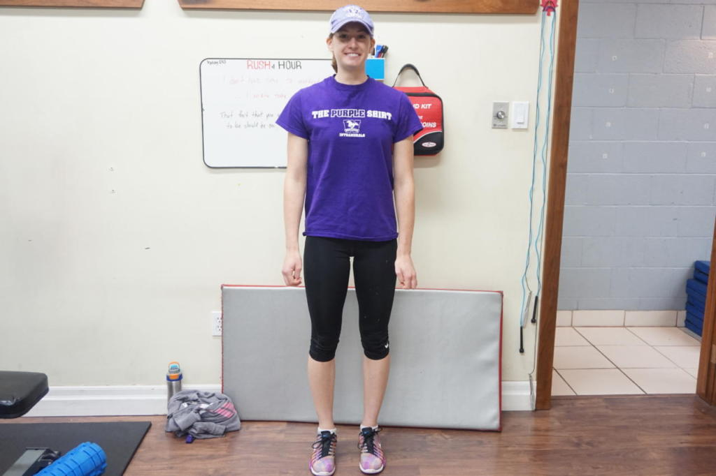Elise won the award after losing weight and building her glutes